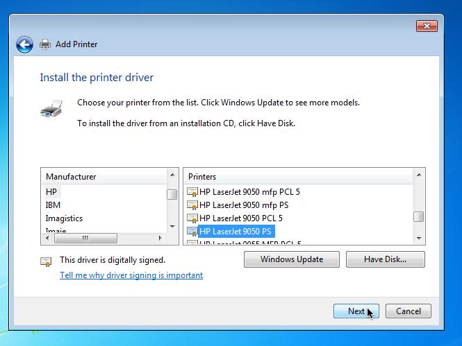 coupon printer download for windows vista