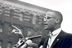 Separation, not segregation - Malcolm X.