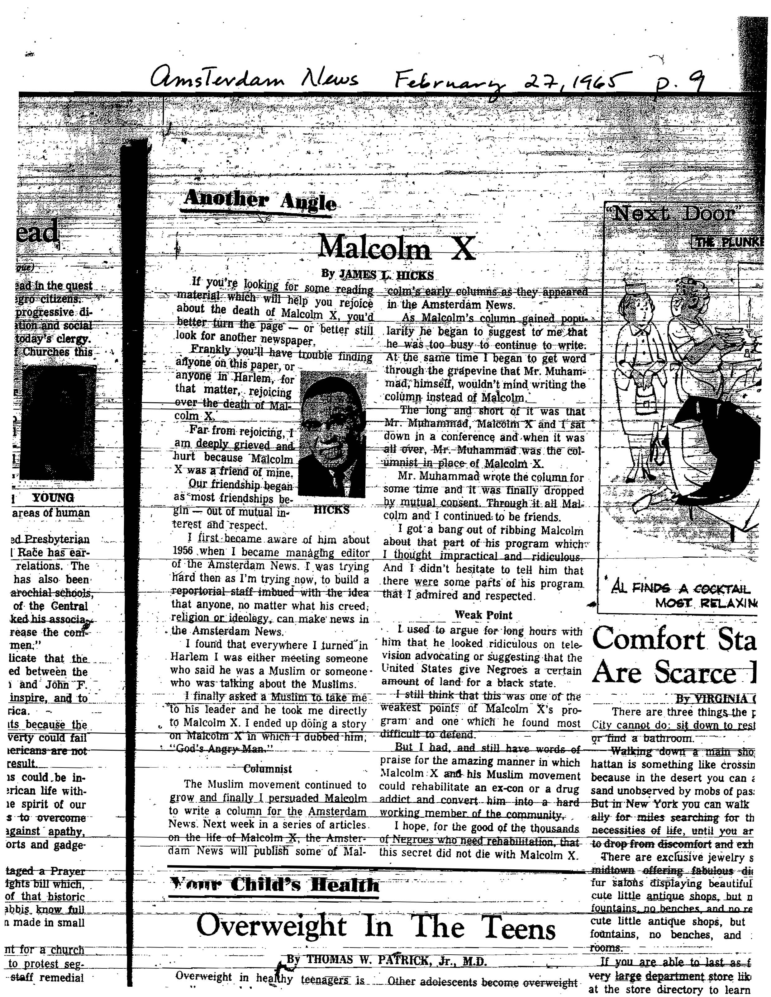 essays over malcom x Subject: this reading is about malcolm x gaining inspiration to learn how to read  and write during his time in prison and the many wonders of the world he.