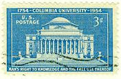 Columbia 200 anniversary commemorative stamp
