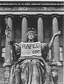 Columbia University Alma Mater 'Raped by Cops' April 1968