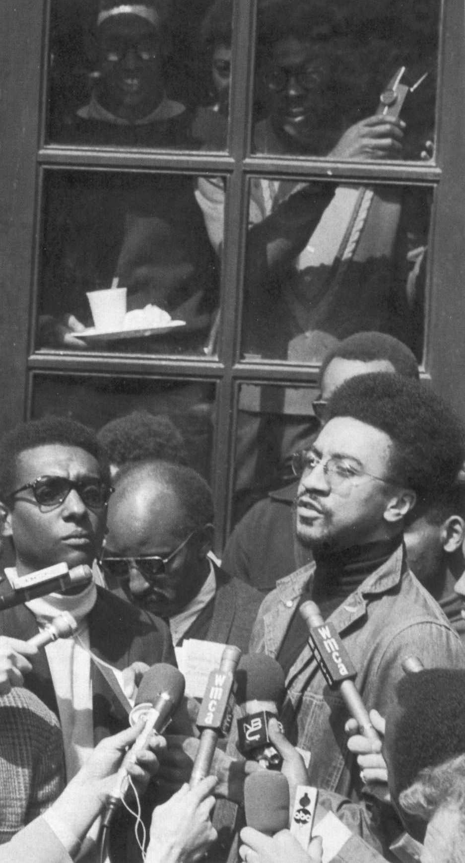 Columbia University 1968 - H. Rap Brown and Stokely Carmichael