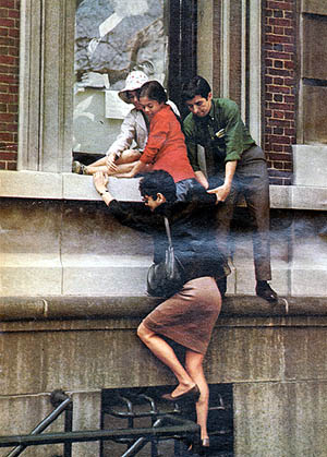 Columbia University 1968 - Tom Hayden and Frances Fox Piven