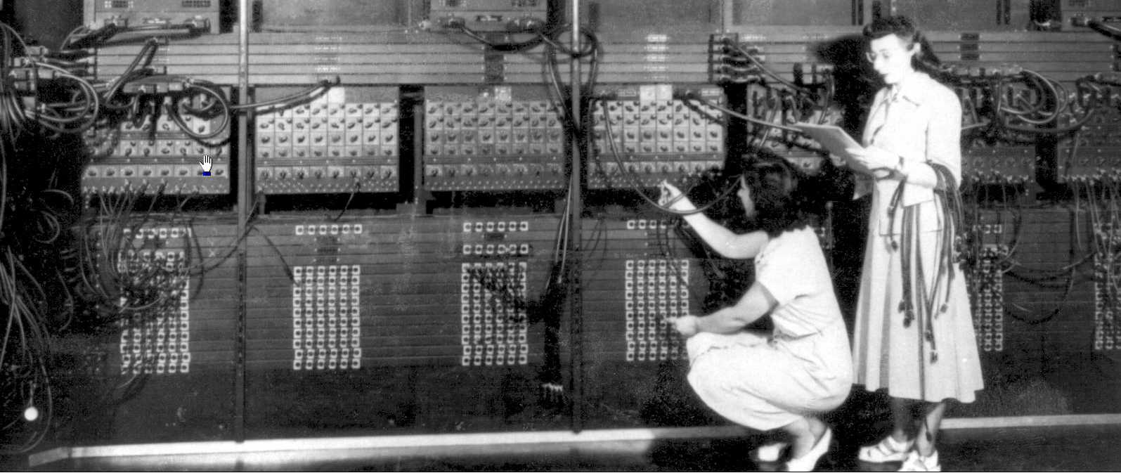 Programming the ENIAC | cyberplayground