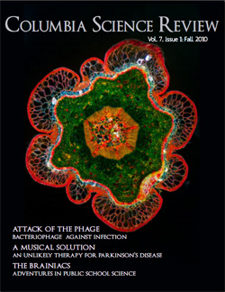 Columbia Science Review's Fall 2010 Issue