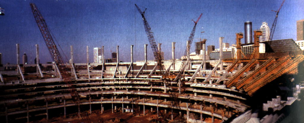 Georgia Dome Demolition >> Atlanta Skyline