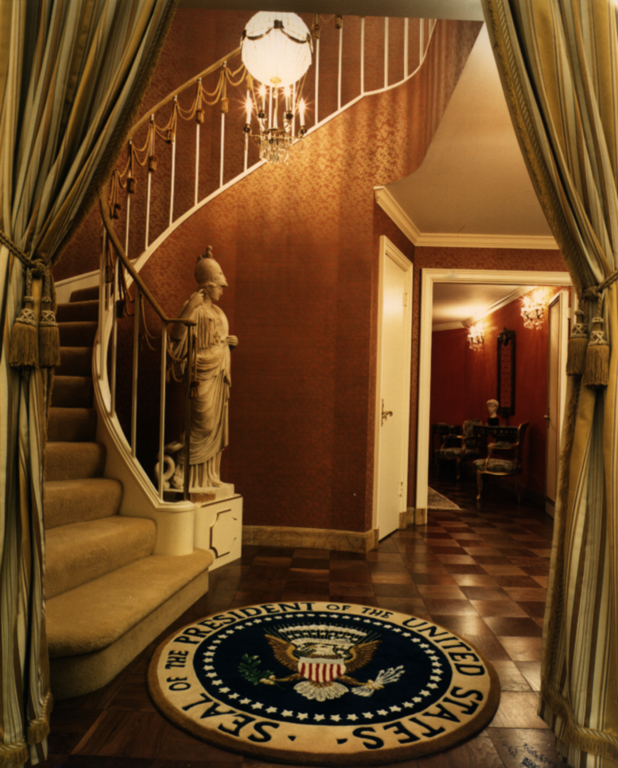 Foyer to the Presidential Suite in the Astrodome
