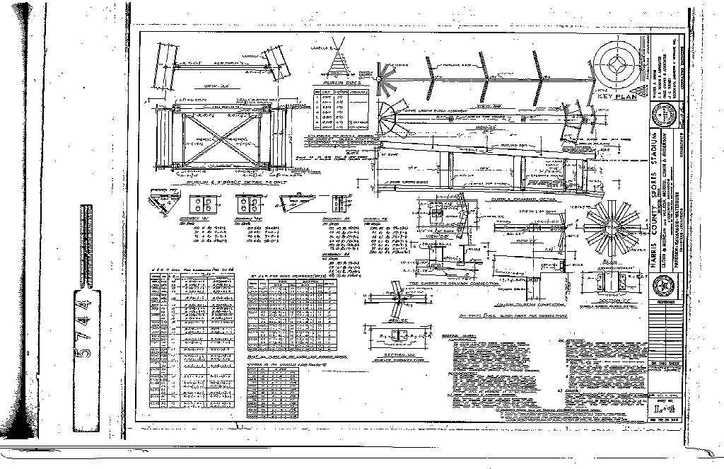 astrodome construction documents