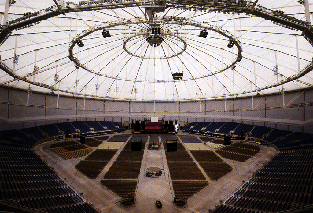 Tropicana Field Dimensions