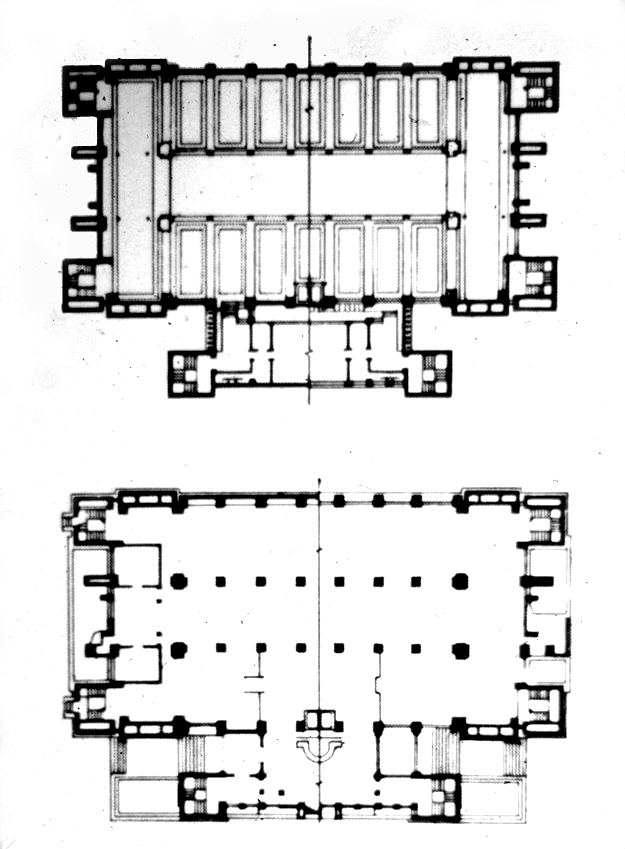 Stunning Frank Lloyd Wright Larkin Building Plan 625 x 849 · 207 kB · jpeg