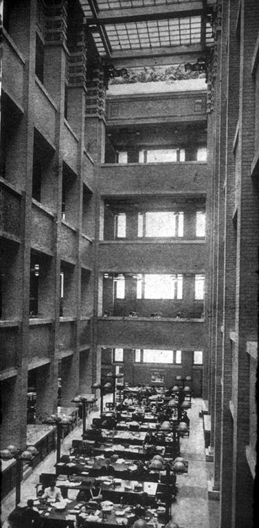 Larkin Building Frank Lloyd Wright Introduction: EEI