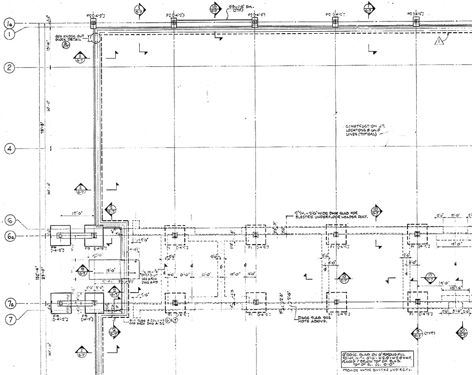 Foundation design drawings methods of applications of for Foundation plan drawing