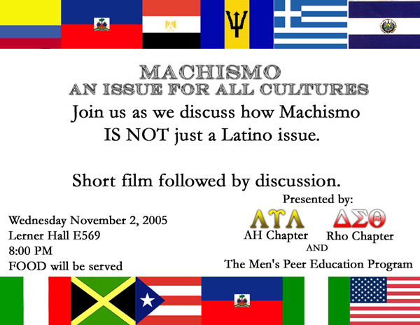 machismo and latin american men essay Check out our top free essays on machismo to help vicario brother's as honorable men whose machismo and masculinity machismo in latin america for.