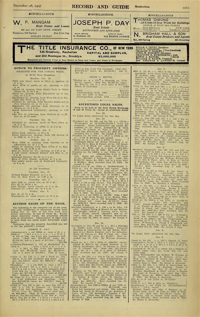 Columbia University Libraries  Real estate record and builders ... efd6443230