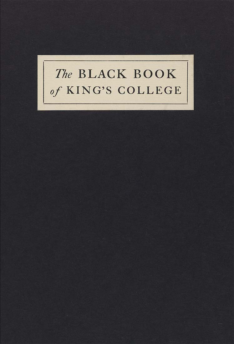 The Black Book >> The Black Book Or Book Of Misdemeanors In King S College New York