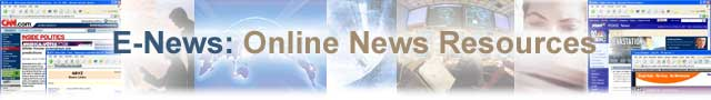 E-News: Online News Resources