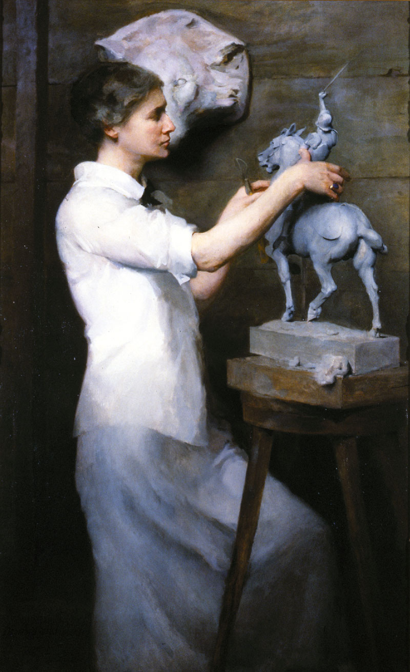 Portrait of Anna Vaughn Hyatt