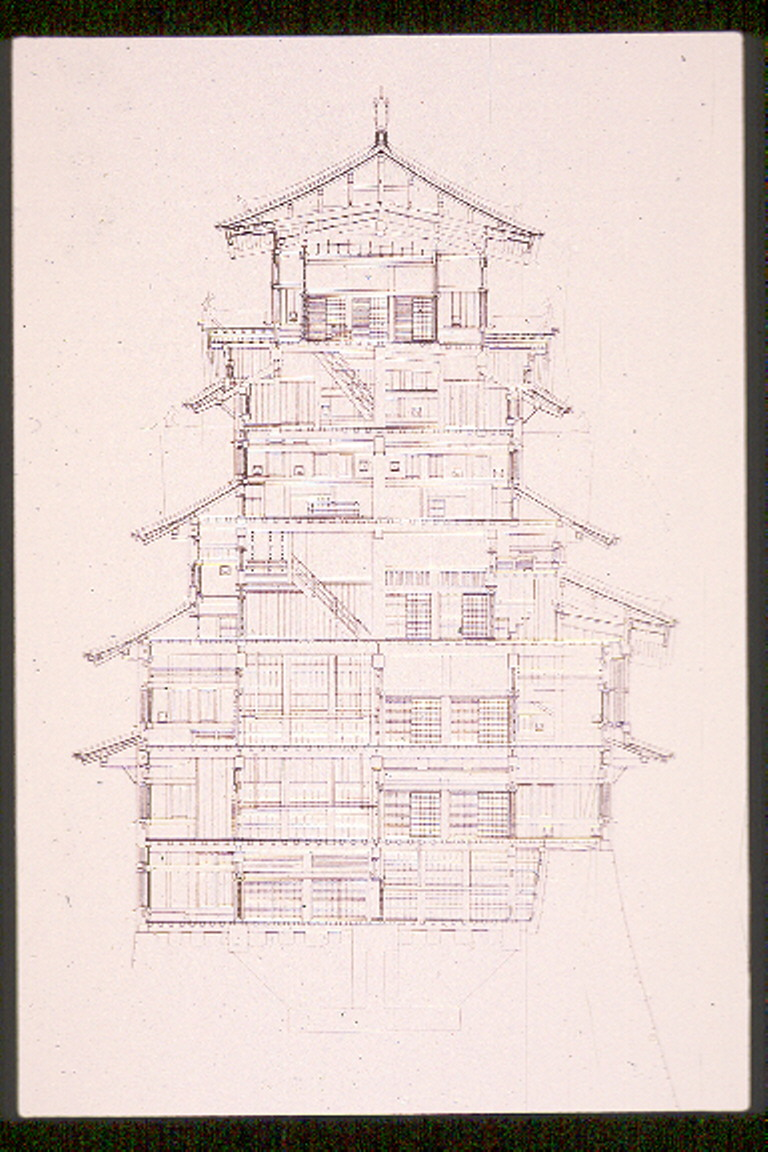 Himeji castle floor plan final art history 379 with for Final fortress blueprints