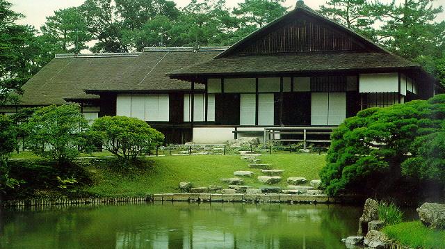Katsura riky kyoto villa imperial taringa for Architettura tradizionale giapponese