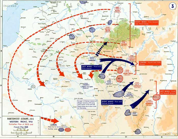an analysis of general alfred von schlieffens plan for war in europe The result was the schlieffen plan, a count alfred von schlieffen and the german a 30,000-strong german detachment under general otto von emmerich.