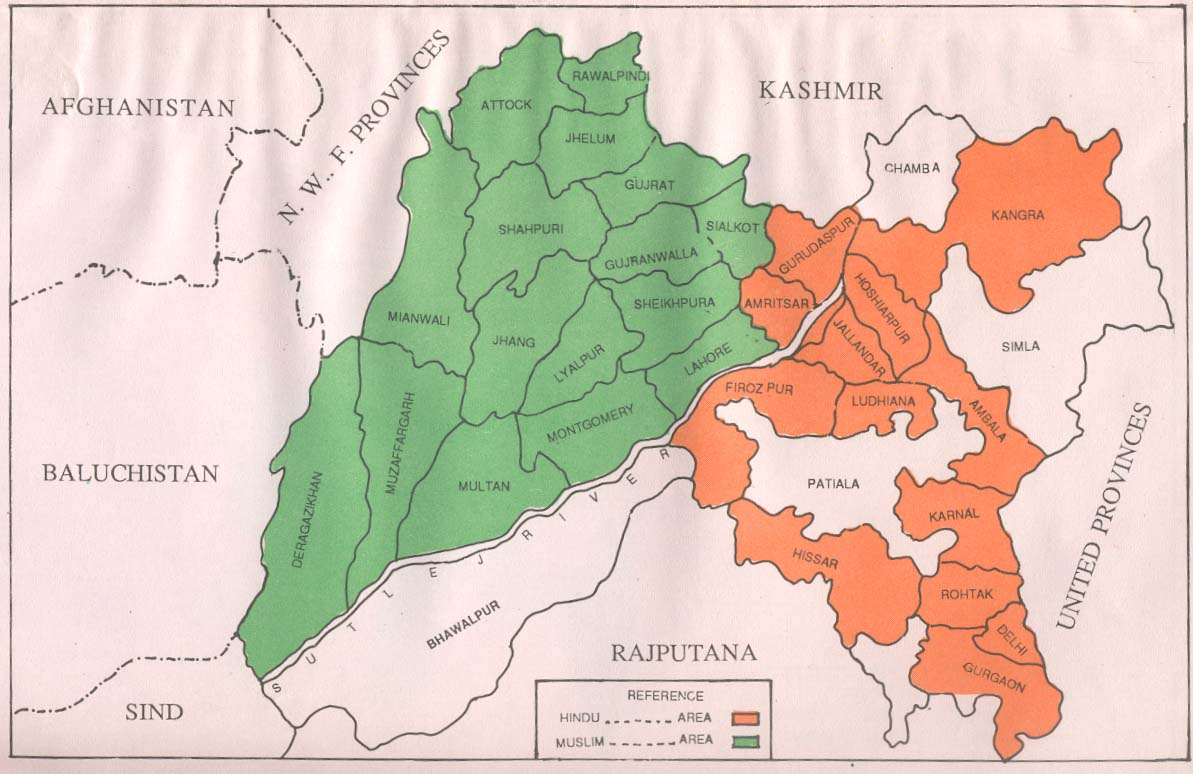 British India South Asia Blog - Map of united provinces india