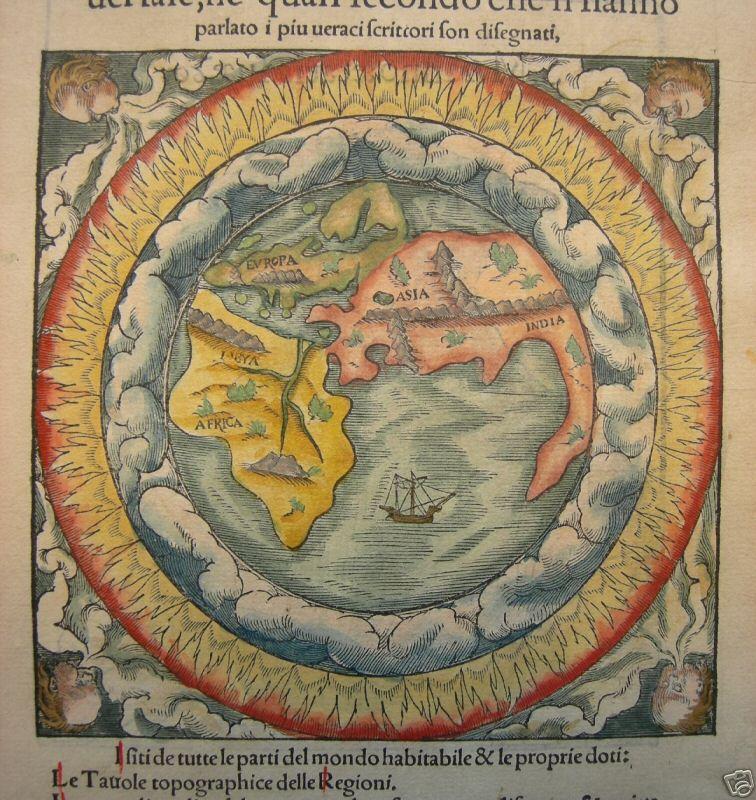 Resultado de imagen de cosmografia universal de sebastian munster