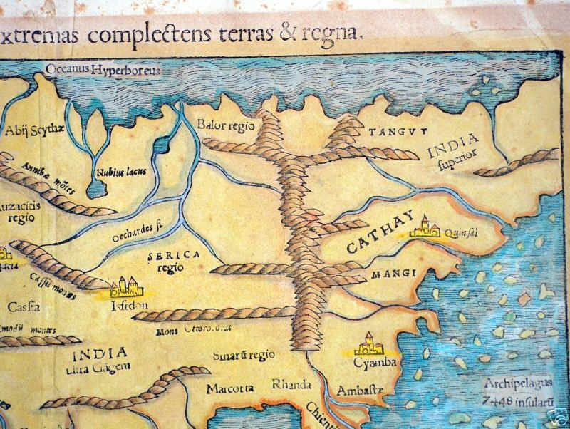 Map Of Europe 1560.Aa Maps