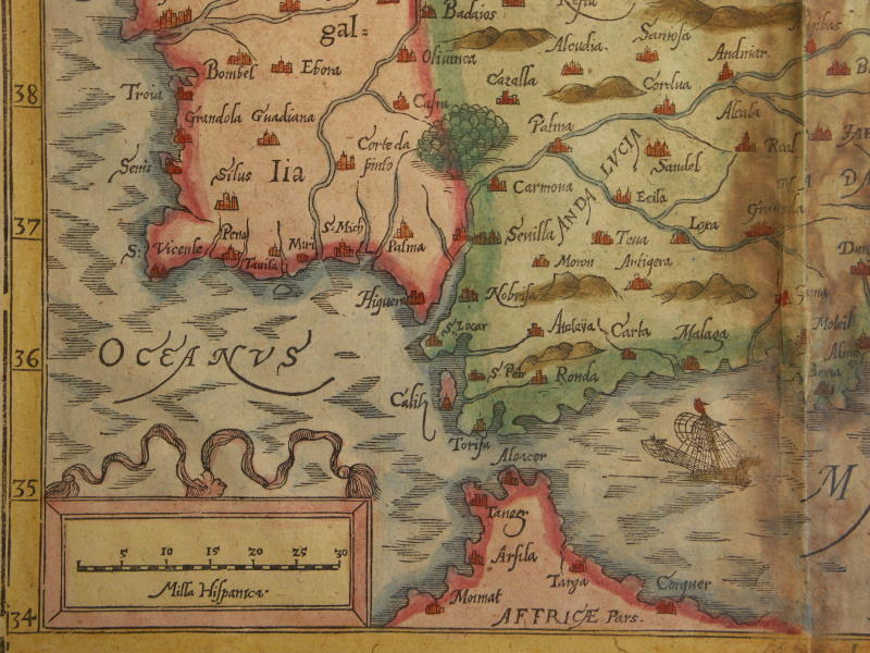 Map Of South West Spain.File Map Of Spain And Portugal 1600 South West Jpg Wikimedia Commons