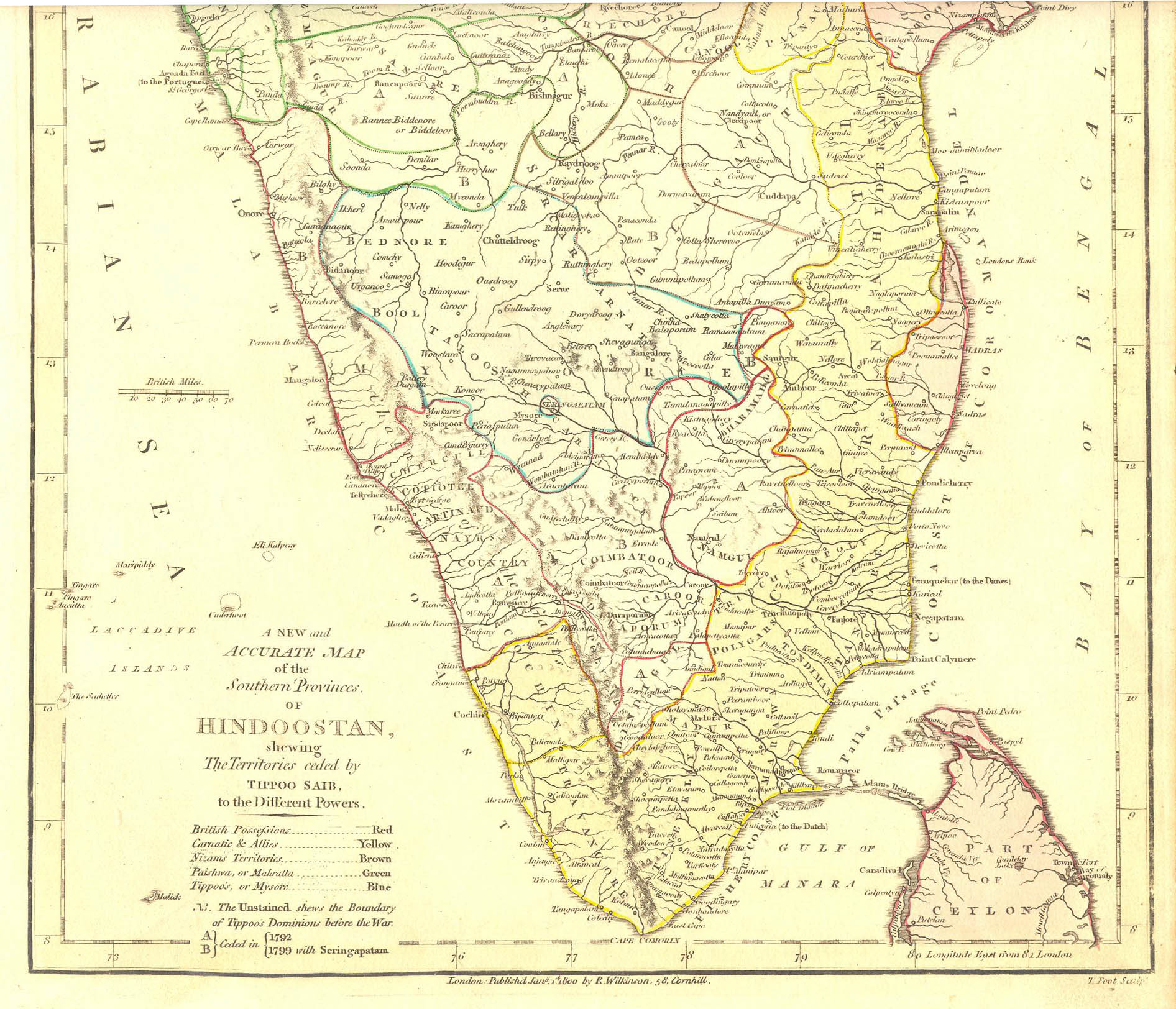 Southindia - Robert wilkinson map of the us