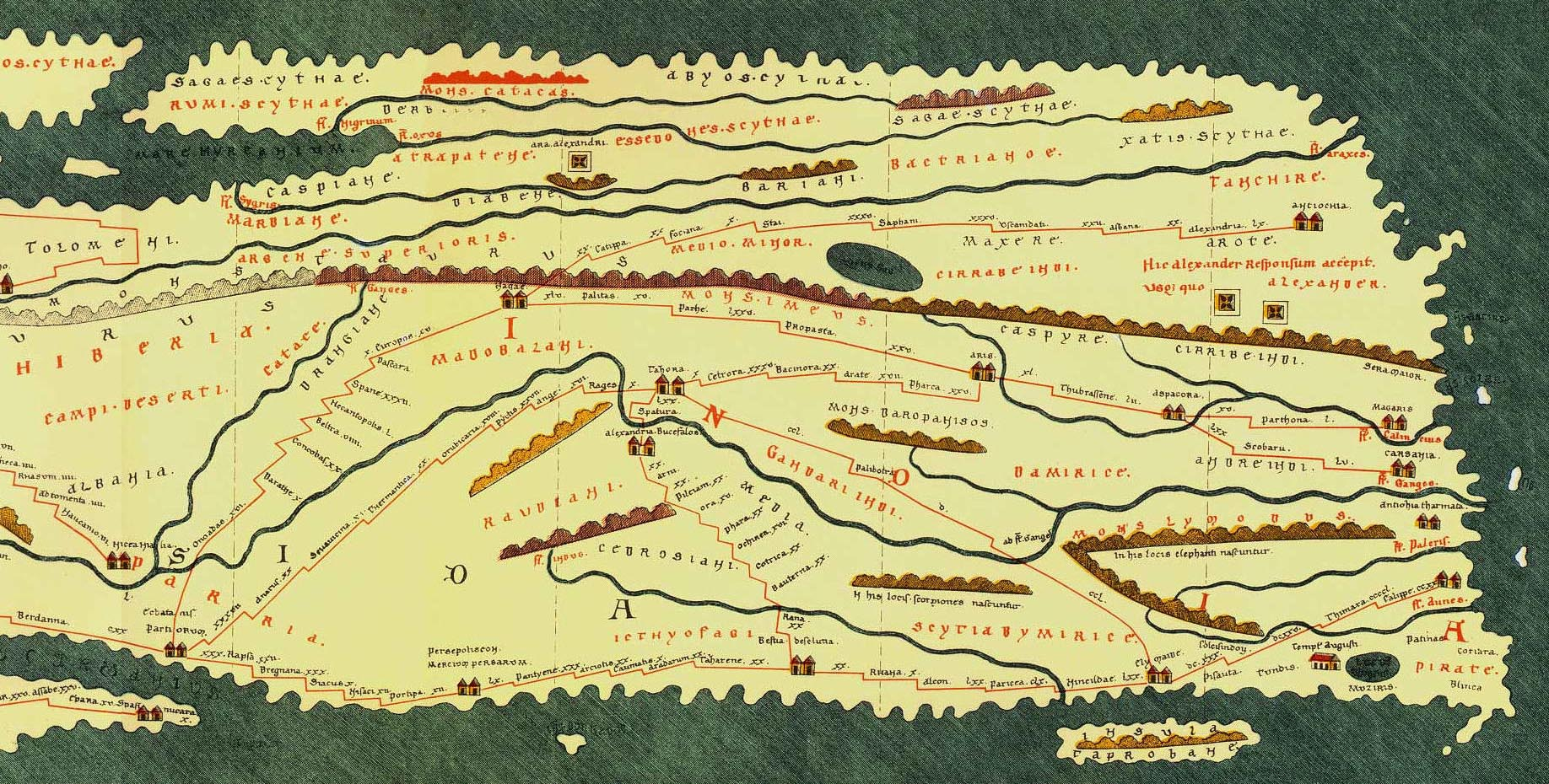The Legacy Of GrecoRoman Mapmaking The New York Times - Egypt and rome map