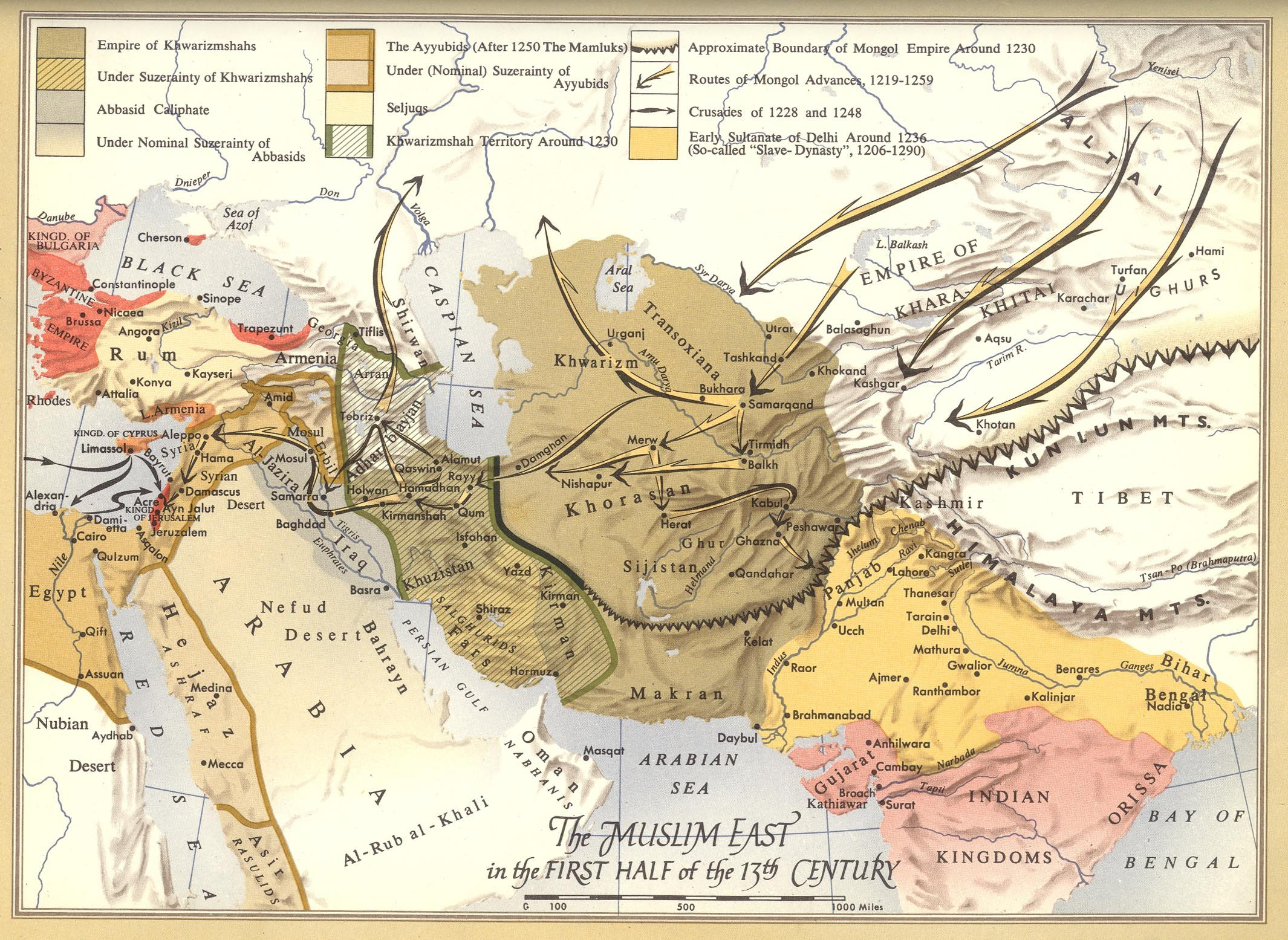 Maps of medieval central asia history forum all empires gumiabroncs Choice Image