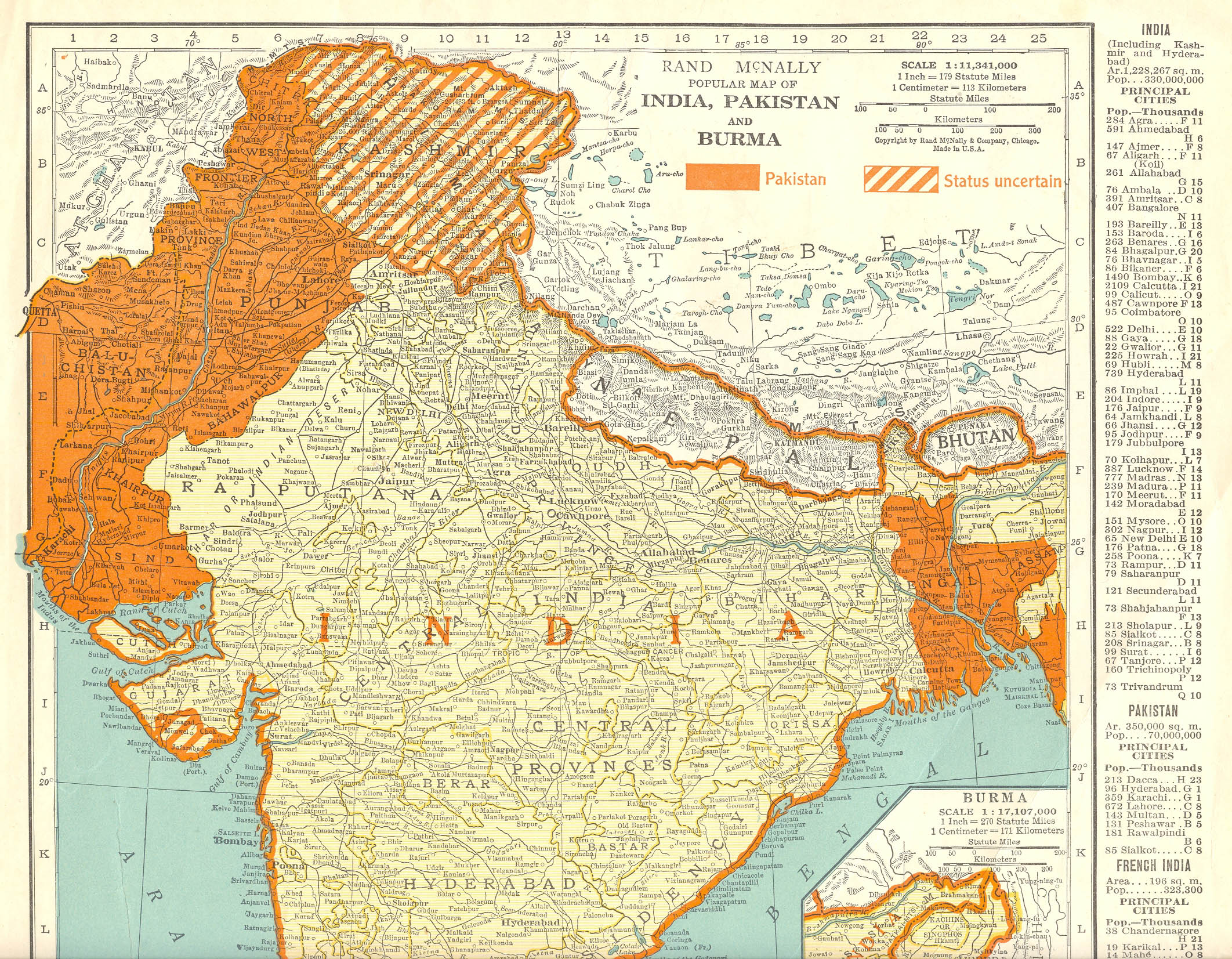 1947 map of india and pakistan relationship