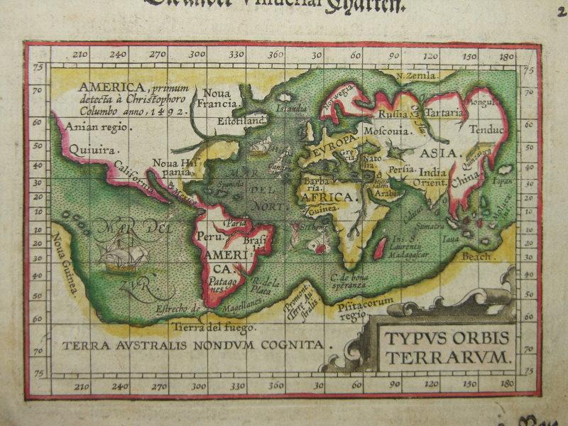 Maps World Map 1600
