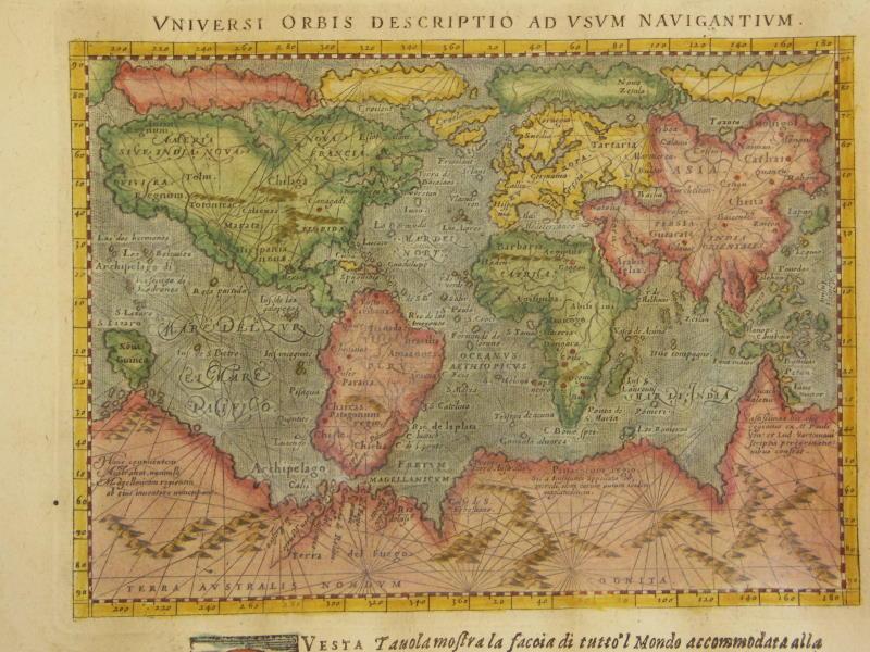 World Map Of Timekeeperwatches - World map 1340 1600