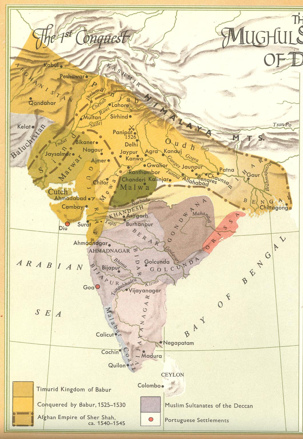 rise and fall of mughal empire pdf