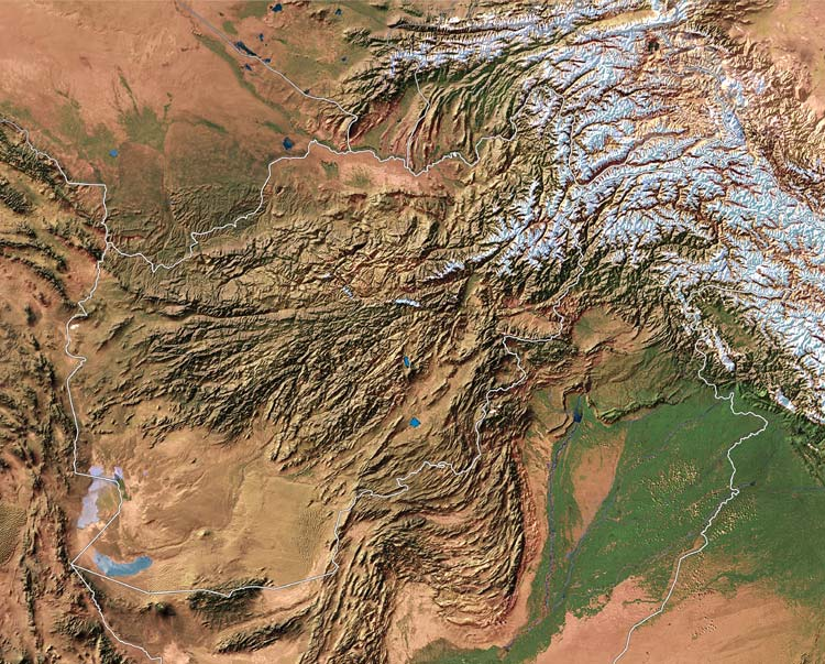 Overheads Dec - National geographic world satellite map