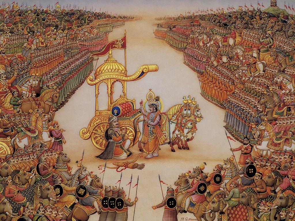 Miniature Painting Wallpaper Rajput Miniature Painting