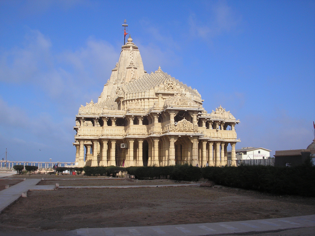 Twelve Jyotirlingas (Dwadasha Jyotirlinga) Darshana - Somnath Temple, Gujarat