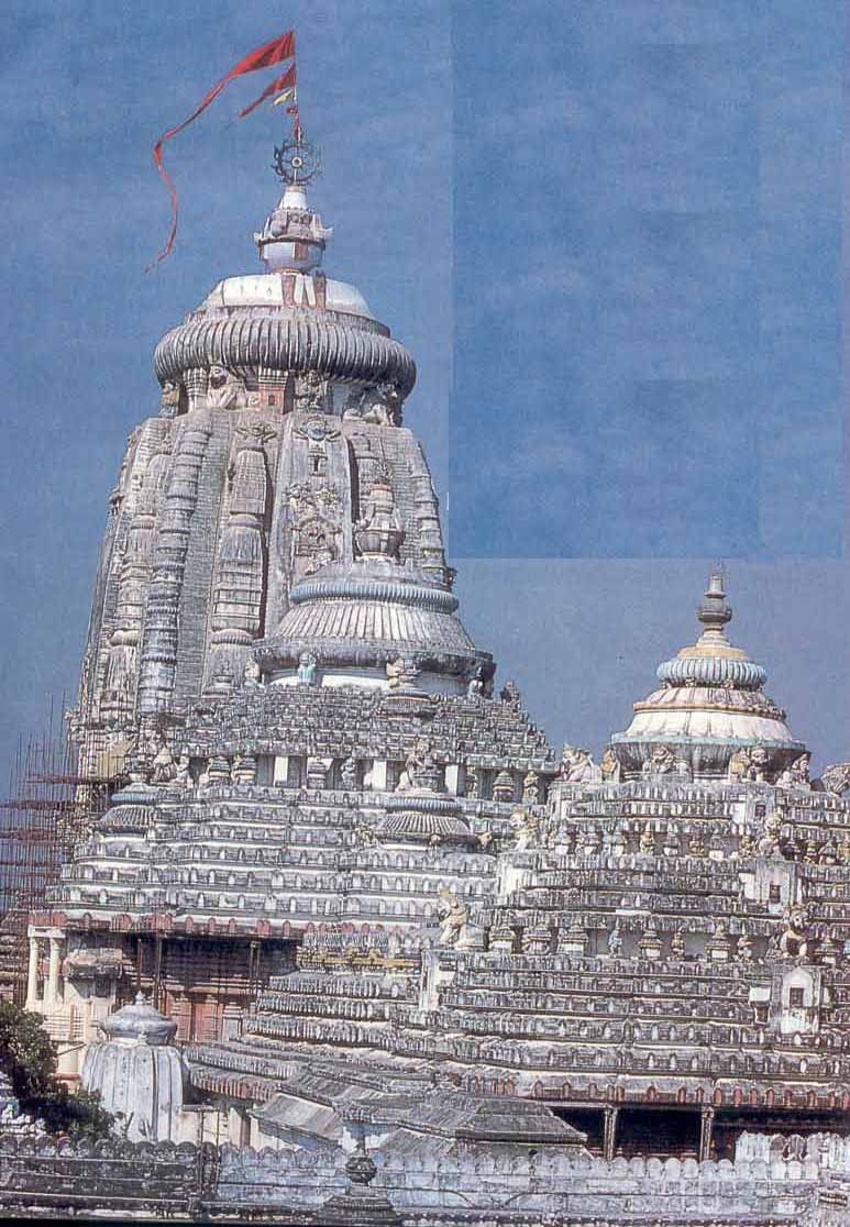 temple at bhubaneshwar orissa photo of the shikhara of the temple