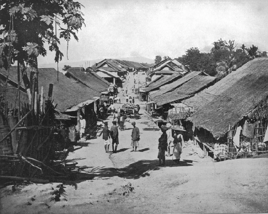 Another Photogravure From Stoddard 1892 Native Village Near Calcutta