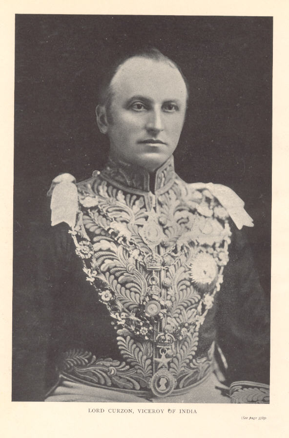 lord curzon Lord curzon becomes governor india's history : modern india : lord curzon becomes governor-general and viceroy : 1899 lord curzon george curzon, the eldest son of baron curzon, was born on 11th january, 1859.