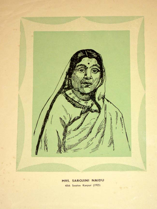 Sarojini naidu short biography