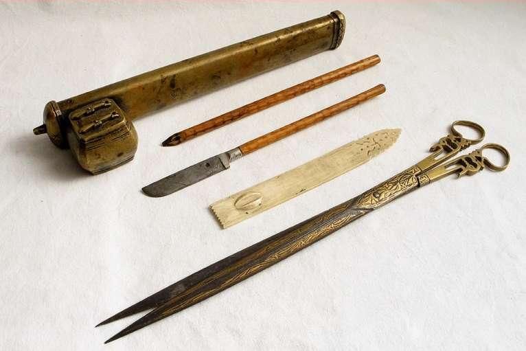 Katibs Arabic calligraphy tools