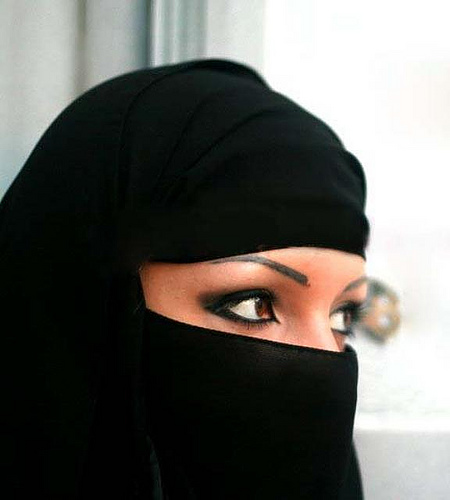 Saudi woman