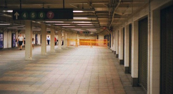 Abandoned Stations Proposed Grand Central Shuttle Platform