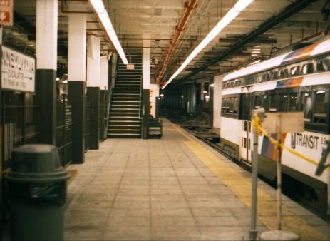Abandoned Stations Newark City Subway Platforms