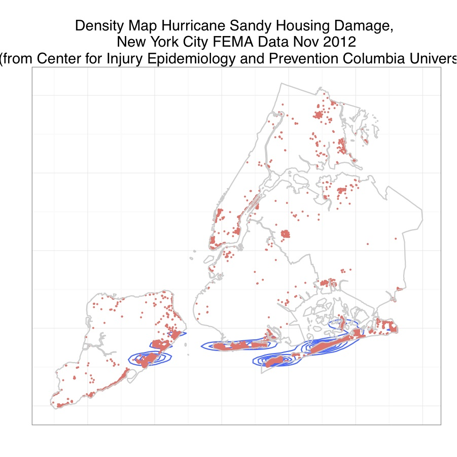 Mapping - New york map data