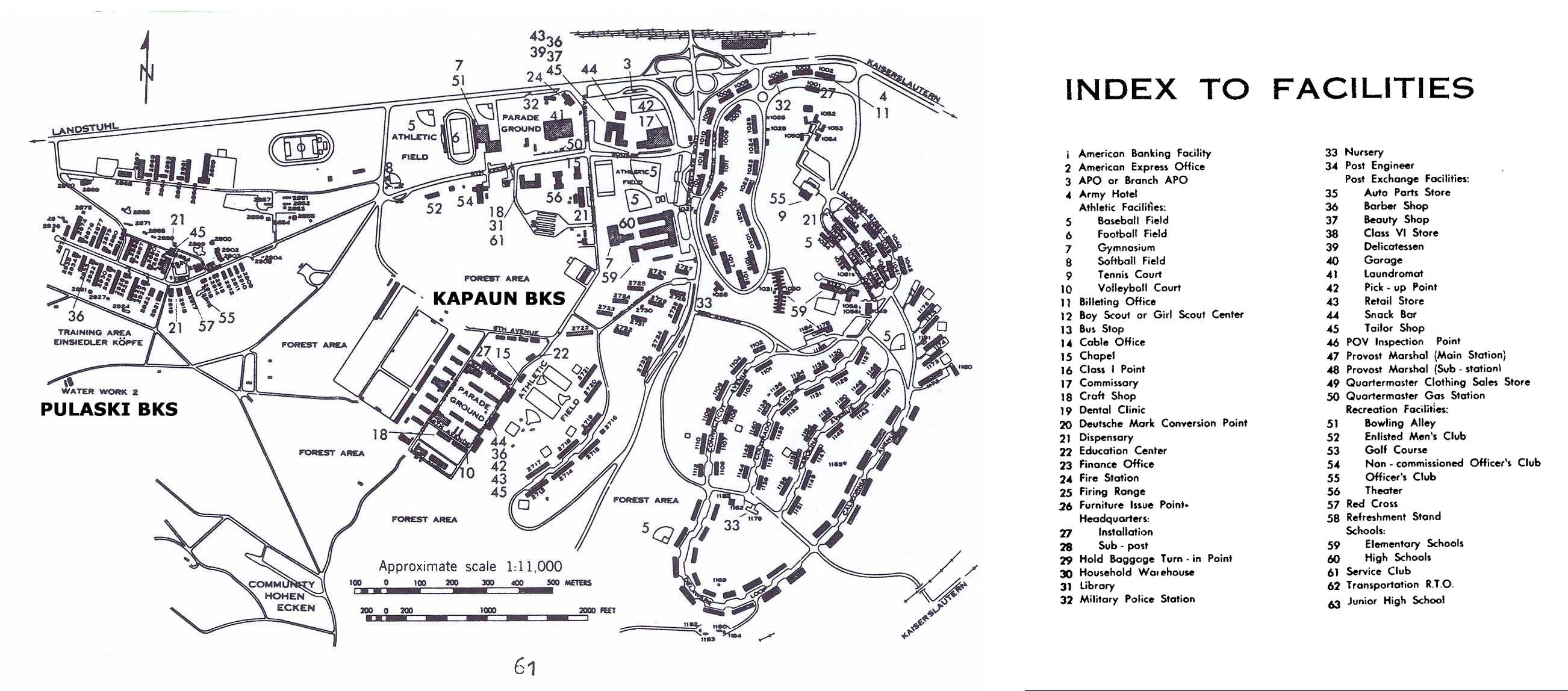 Patch barracks base map