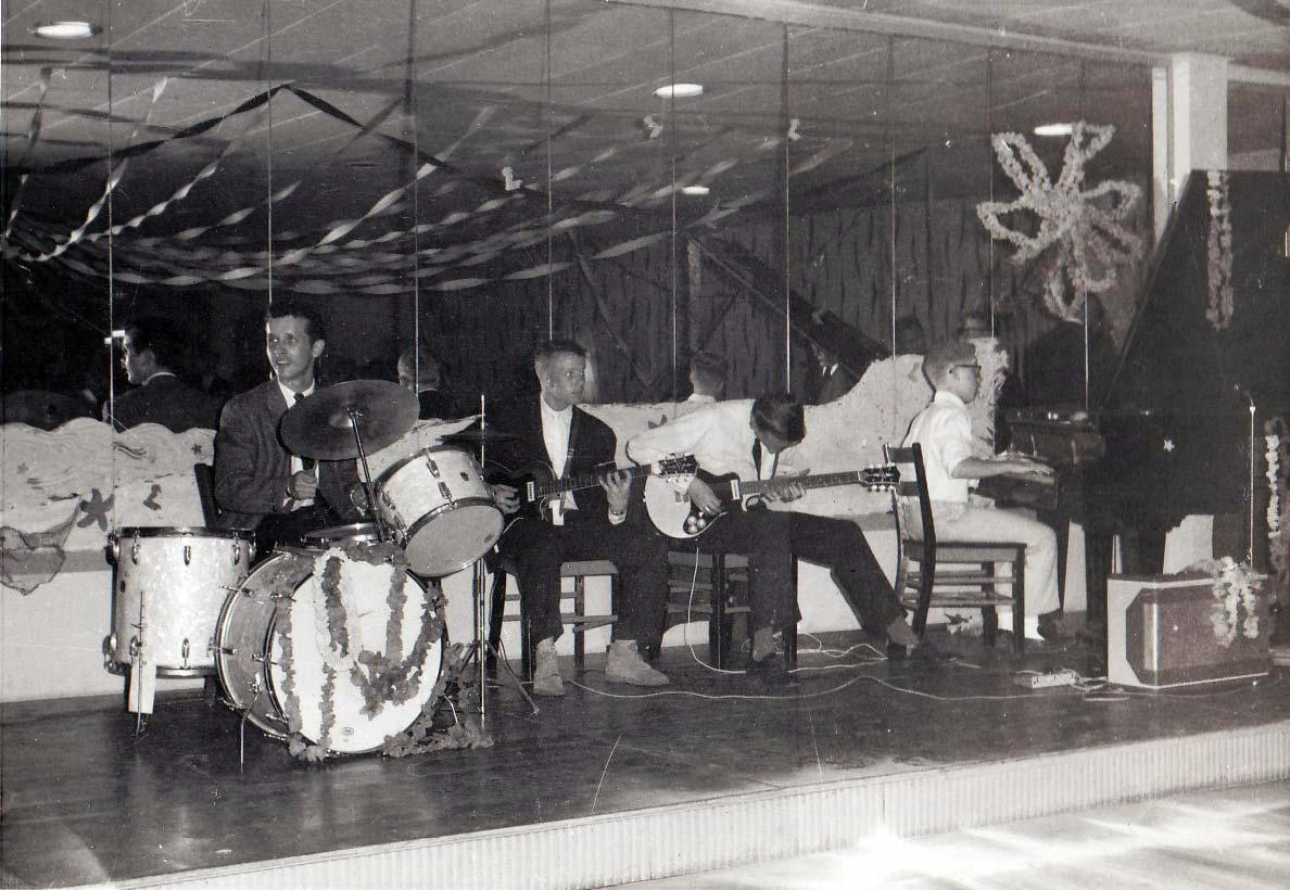Frankfurt Teen Club Rock Band 1961