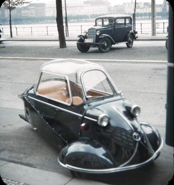 The Messerschmitt Kabinenroller